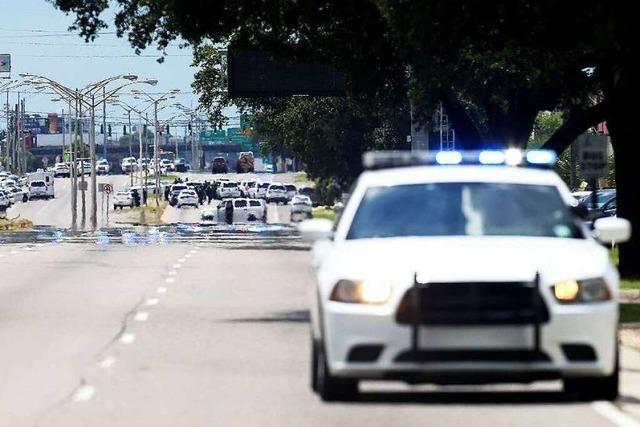 Drei Polizisten in Baton Rouge erschossen
