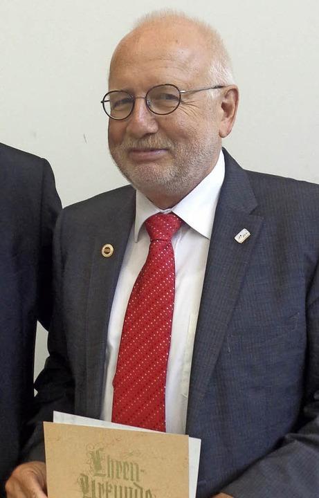Rückzug als SBVV-Präsident nach 18 Jahren: Hans-Dieter Wankmüller aus Freiburg     Foto: privat
