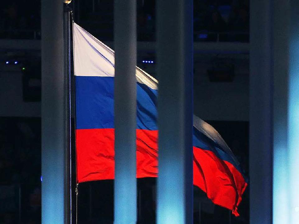 Kollektive Bestrafung einer ganzen Oly...aaten des Westens greifen Russland an.  | Foto: dpa
