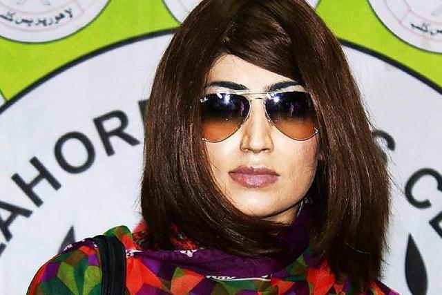 Eigener Bruder ermordet Pakistans Internet-Star