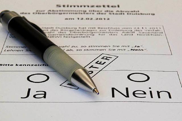 Bürgerbegehren in Offenburg werden einfacher
