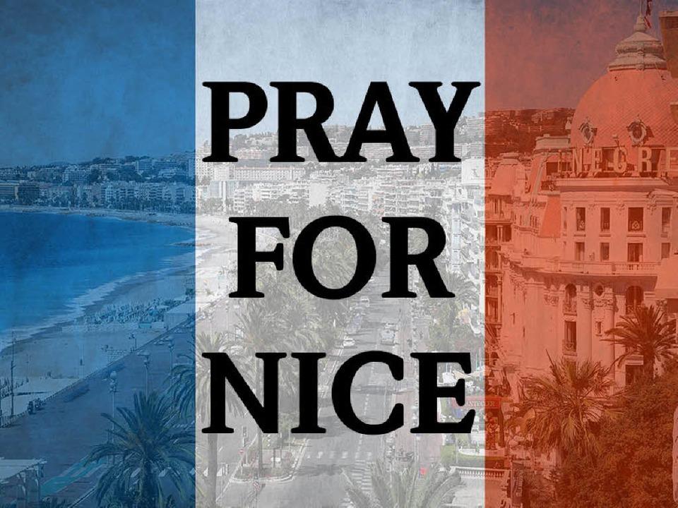 Die Welt trauert um die Opfer von Nizza.  | Foto: Dorothee Soboll
