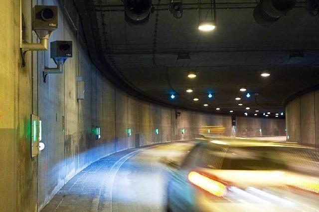 B31: Im Freiburger Tunnel wird nun geblitzt