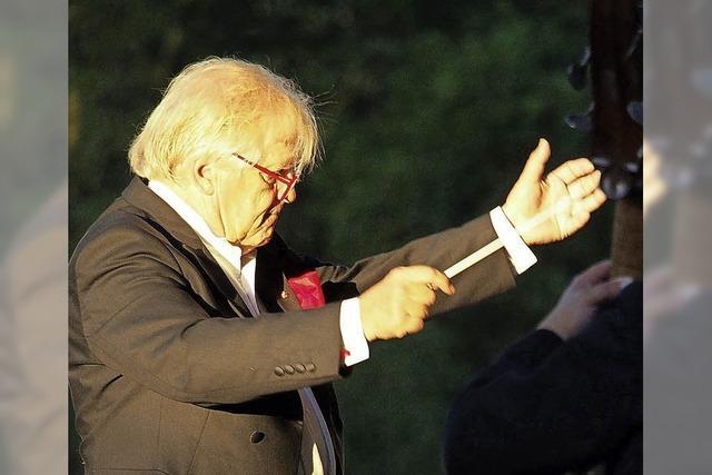 Justus Frantz und die Philharmonie der Nationen im Kurpark