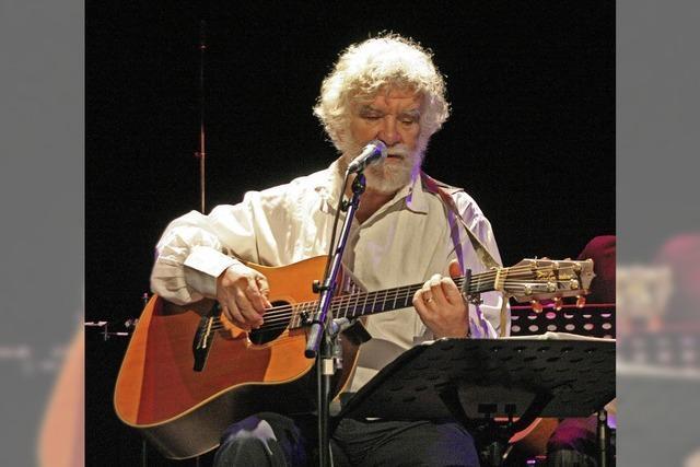 René Egles spielt beim Pfarrhofkonzert