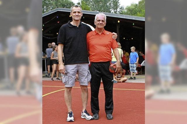 Neues Spielfeld des TuS mit einem Sportfest eröffnet