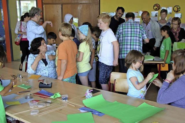 Aktive und kreative Grundschüler