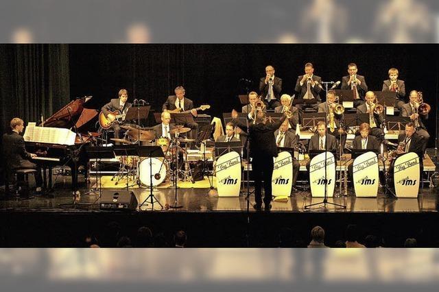 Doppelkonzert mit zwei Bigbands in Freiburg