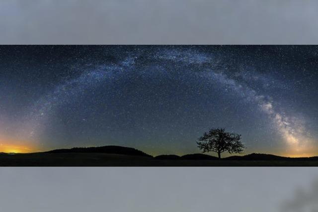 Wenn die Milchstraße einen Bogen schlägt
