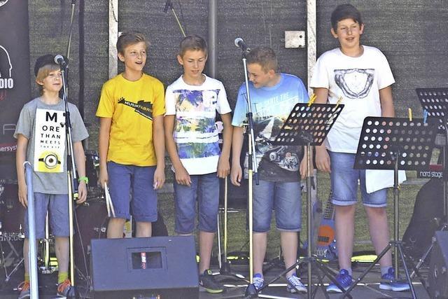 Junge Talente wagen den Schritt auf die große Open-Air-Bühne