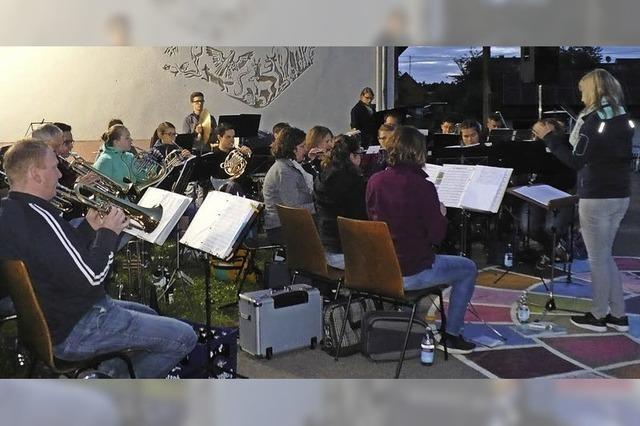Konzert an einem etwas kühlen Sommerabend
