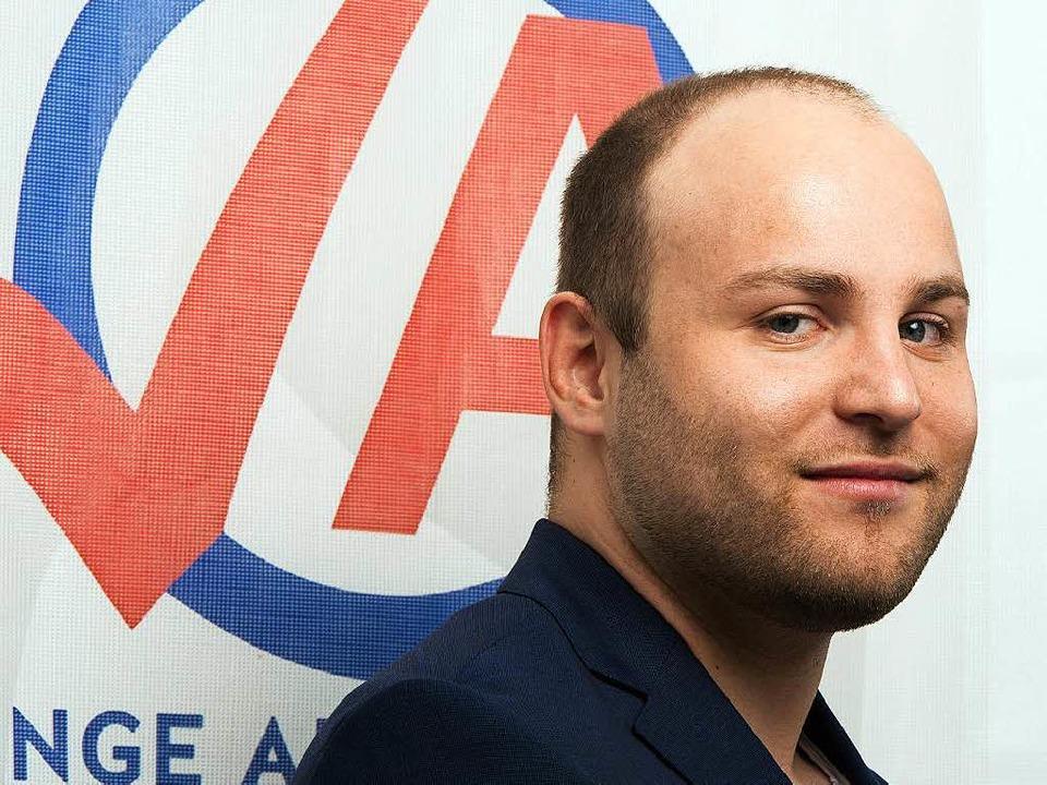 Markus Frohnmaier ist Bundesvorsitzend...er AfD. Er gilt als rechter Hardliner.  | Foto: dpa