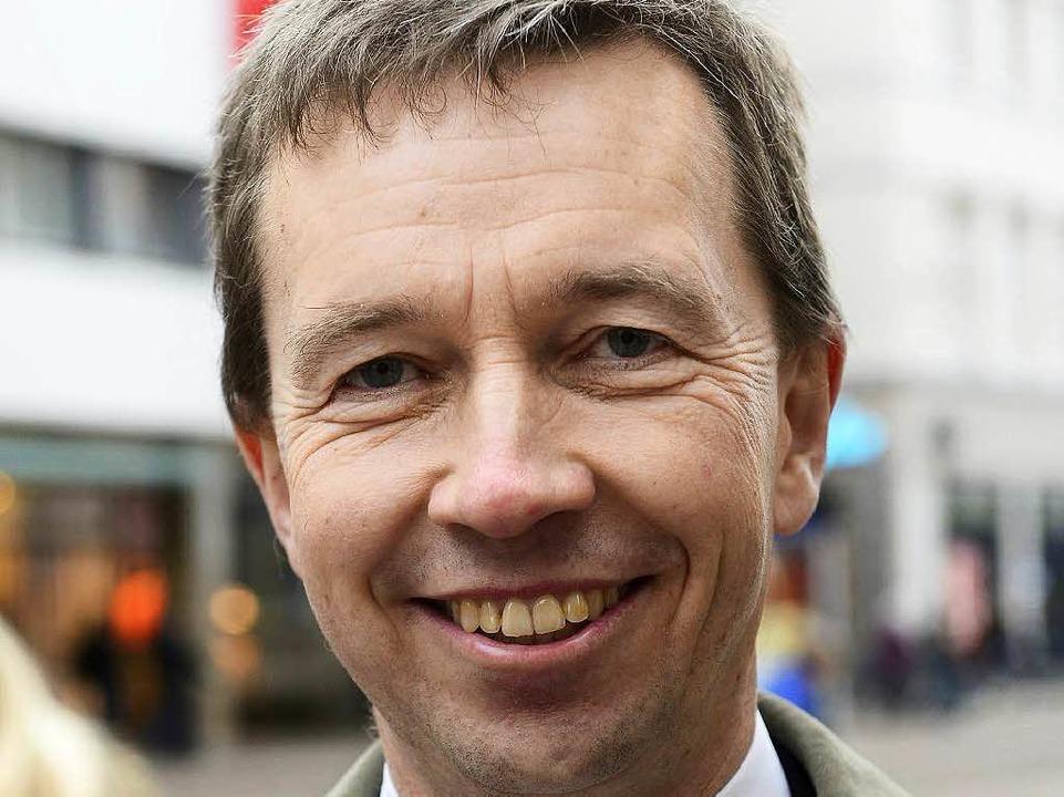 Bernd Lucke war im Februar 2015 noch B...z für Fortschritt und Aufbruch (ALFA).  | Foto: Ingo Schneider