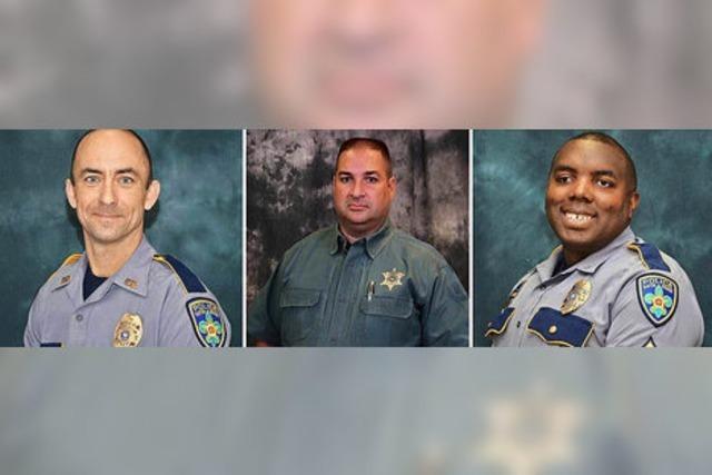 Drei Tote: Einzeltäter hat Attentat auf Polizisten verübt
