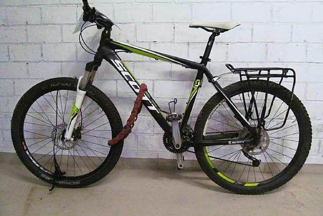 Freiburger aufgepasst: Wer vermisst dieses Mountainbike?