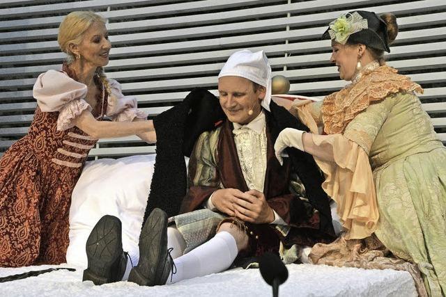 Die Burgfestspiele Rötteln zeigen Molières