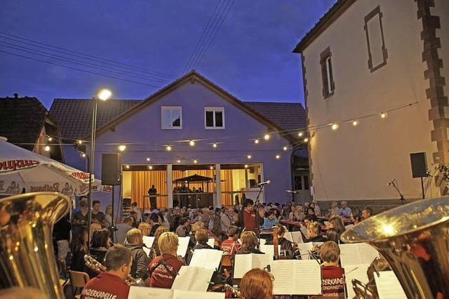Sommerkonzert der Winzerkapelle Köndringen