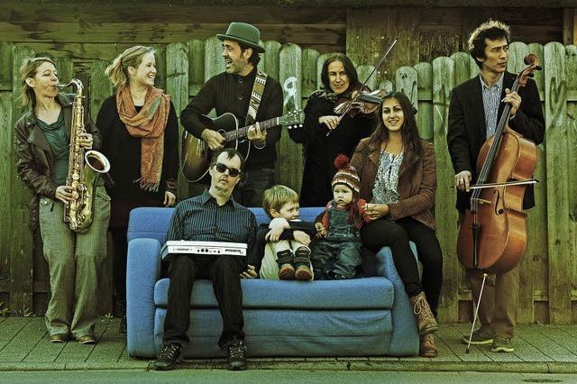 Oliver Scheidies & Band spielen in der Mensabar Freiburg