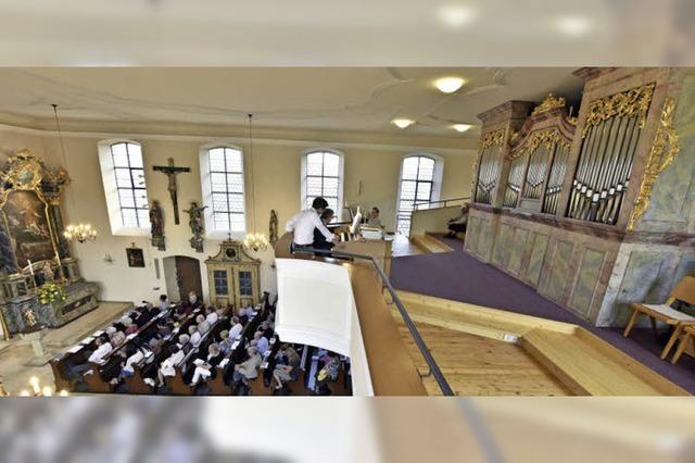 Die Orgel von St. Cyrial ist wieder eingeweiht worden