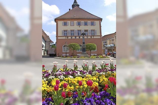 Das Rathaus ist sortiert