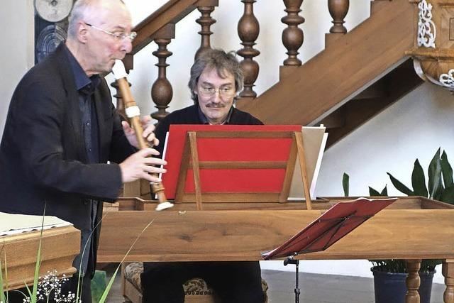 Mit Flöte und Spinett