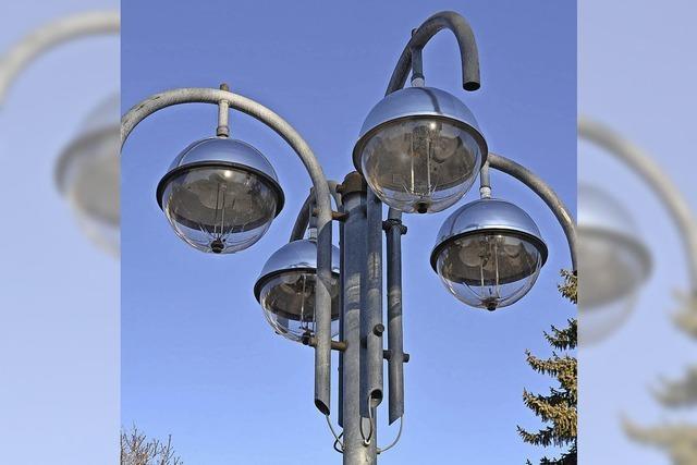 Neue Straßenbeleuchtung wird rund 200.000 Euro teurer als geplant