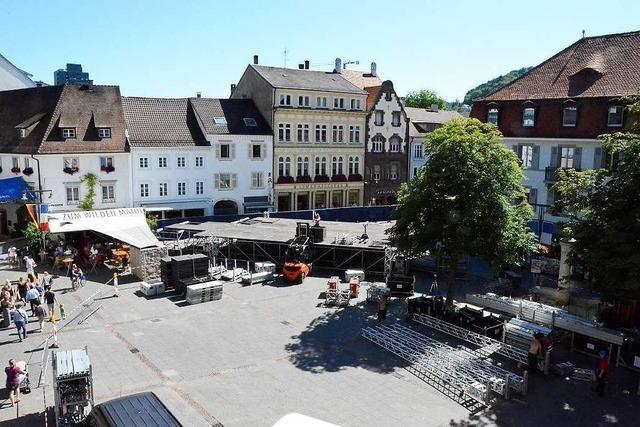 Stimmen-Festival zieht wieder an Marktplatz – das gefällt nicht allen