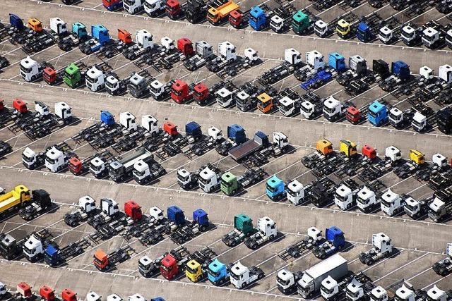 Preisabsprachen: Höchstes Bußgeld aller Zeiten für Lastwagenbauer