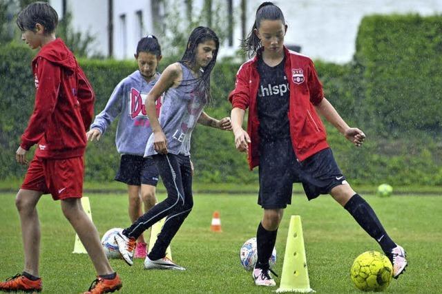Die Juniorinnen der SG Ebnet/Kappel sind der FC Bayern der Freiburger Bezirksliga
