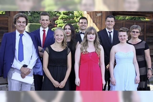 Auszeichnung für sieben Abiturienten