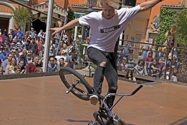 Chris Böhm stellt BMX-Weltrekord auf