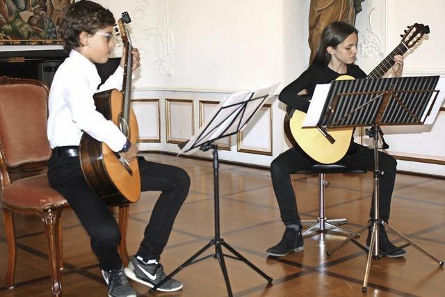 Ausdrucksstark und mit großem Können musiziert