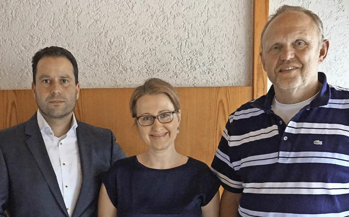 Drei referierten zum Thema Bürgerbetei...d Rothenberger  und   Wolfgang Schanz.  | Foto: Julius Steckmeister