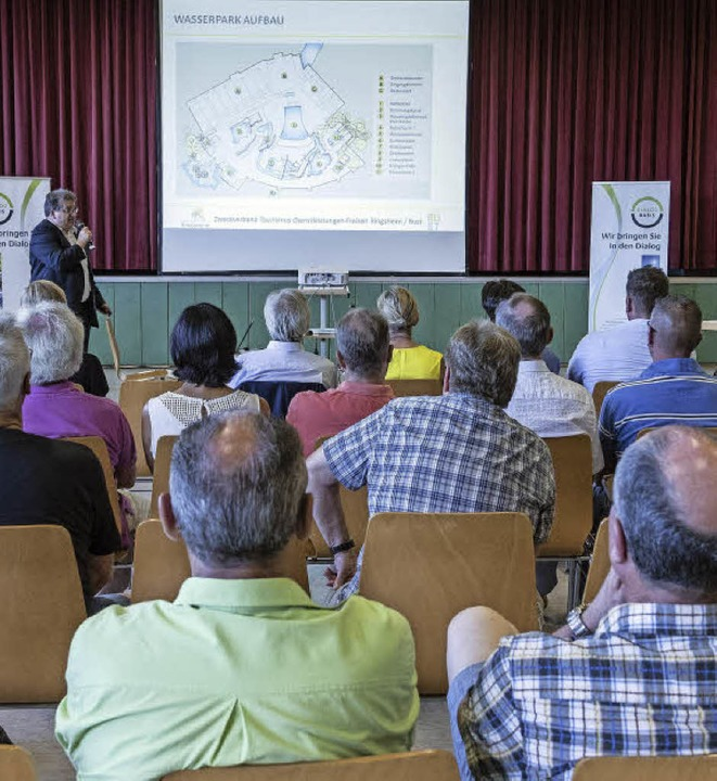 Am Dienstag wurde die Dialogreihe zum ...baren Zahl an Zuhörern abgeschlossen.     Foto: B.Rein