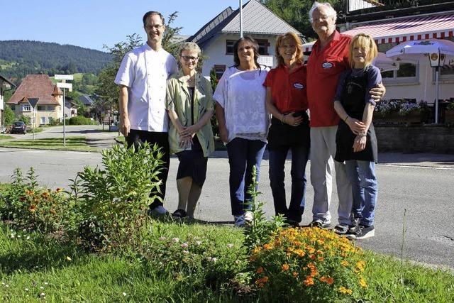 Blumen für Grünstreifen in Todtmoos