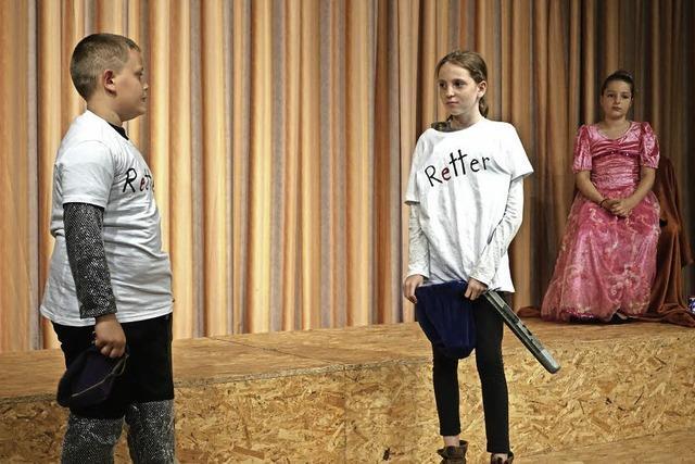 Junge Schauspieler begeistern