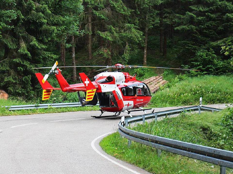 Die Unfallstelle auf der L 151.  | Foto: kamera24.tv