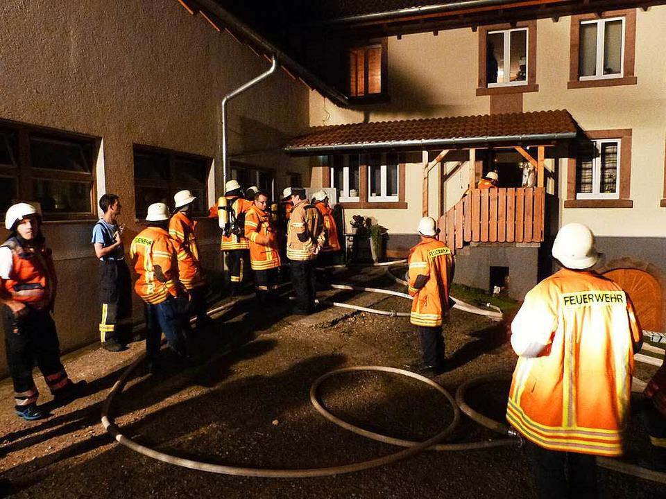Großeinsatz der Freiämter Wehr  | Foto: Feuerwehr Freiamt