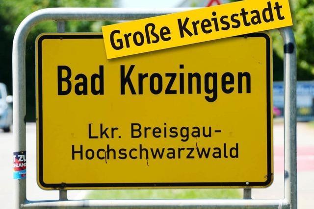 Bad Krozingen will Große Kreisstadt werden - Antrag gestellt