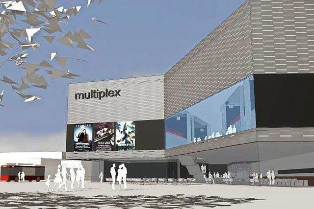 Multiplex-Kino mit 1100 Sitzen – und integriertem Busbahnhof