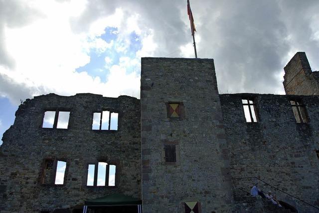 Auf historischen Pfaden zur Burg