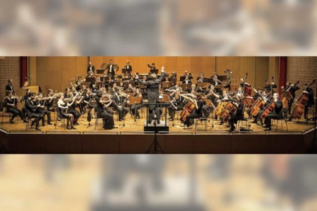 Die Junge Kammerphilharmonie Freiburg spielt im Konzertsaal der Musikhochschule