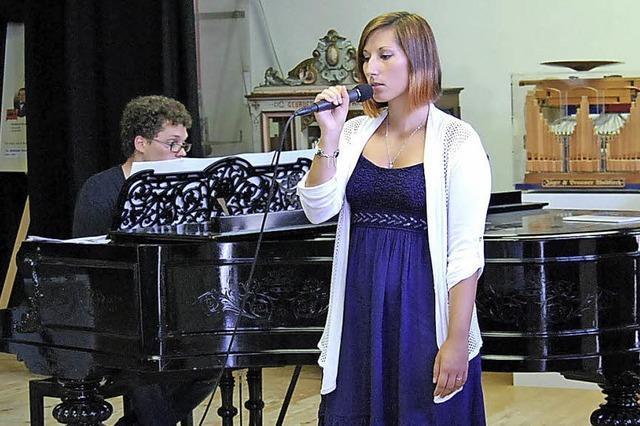Schüler der Gesangsklasse von Frauke Hofmann in Waldkirch