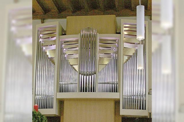 Orgelkonzert und Vernissage zum 10-jährigen Orgeljubiläum