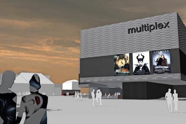 Am Bahnhof entsteht ein Kinopalast