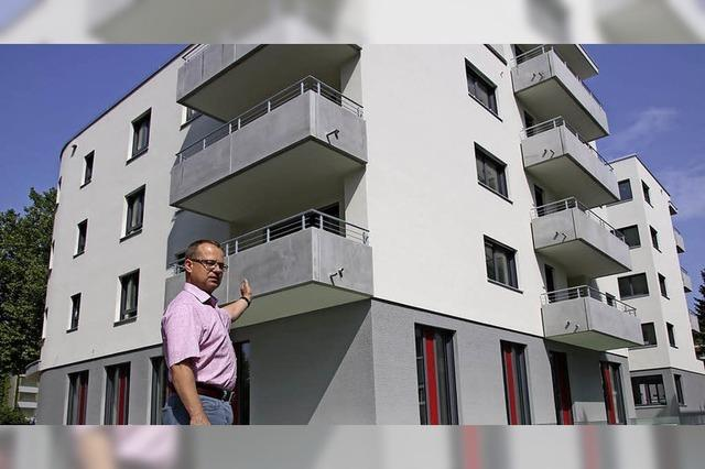 23 weitere Wohnungen vor der Fertigstellung