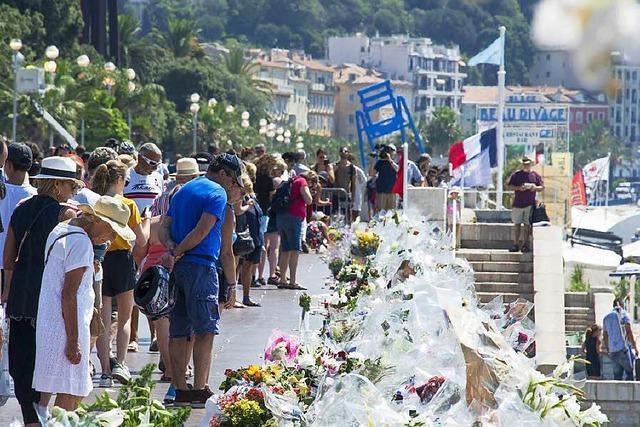 Staatsanwalt: Nizza-Attentat mit Komplizen monatelang vorbereitet