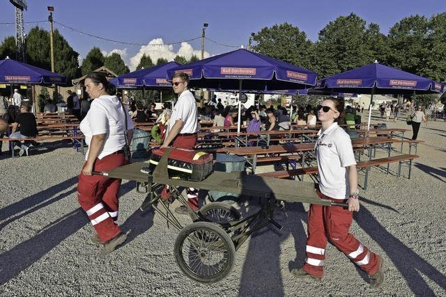 Seit 20 Jahren kümmern sich die Johanniter um die medizinische Versorgung auf dem ZMF
