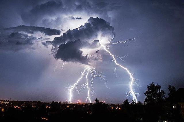 Experten erwarten schwere Gewitter am Wochenende