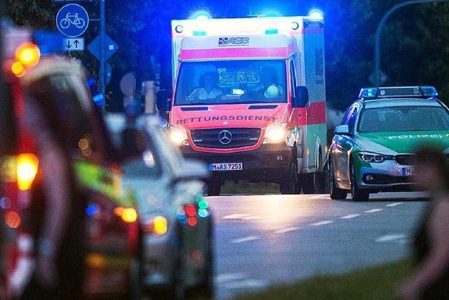Terror in München: Blaulicht ist die Farbe der Nacht